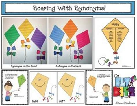 theme idea synonym kite activities quot soaring with synonyms quot super cute kite