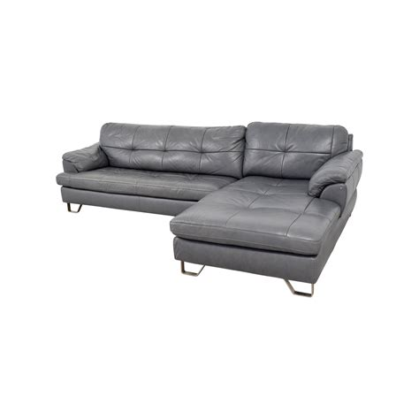 82 Off Ashley Furniture Ashley Furniture Gray Tufted