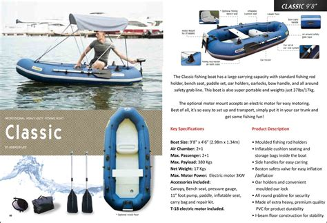 aqua marina inflatable fishing boat wild river inflatable electric motor boat for sale 48000 free shipment