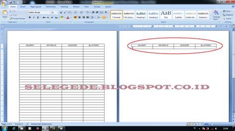cara membuat header html cara membuat header tabel otomatis pada halaman berikutnya