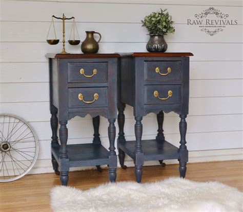 navy blue bedside table antique navy blue rustic bedside tables navy bedrooms