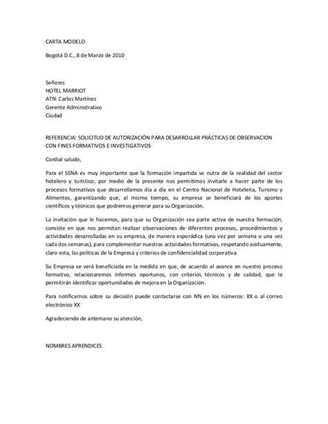 carta de autorizacion de un proyecto ricerche correlate a carta de solicitud de permiso laboral no car interior design