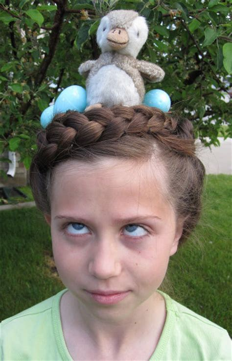 parrot hairstyle bird nest hairstyle pictures photos and images for