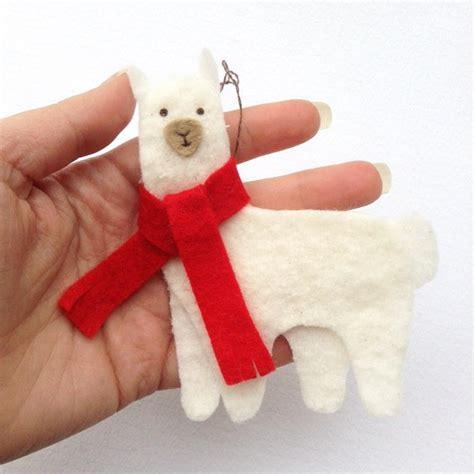 Nice Christmas Stocking To Knit #7: Christmas-Llama-DIY-Felt-Ornament_ExtraLarge800_ID-1944700.jpg?v=1944700