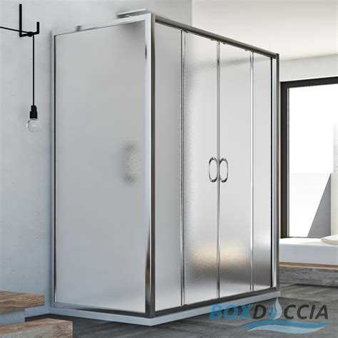 box doccia scorrevoli box doccia 3 lati 2 ante scorrevoli apertura frontale