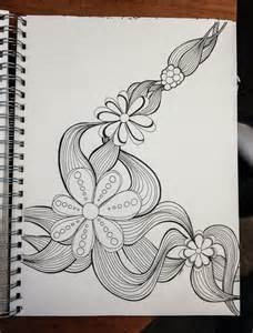 how to draw a doodle flower flower doodle addicted