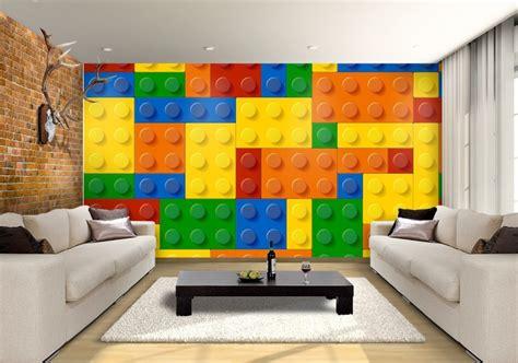 lego brick wallpaper bedroom walls  information