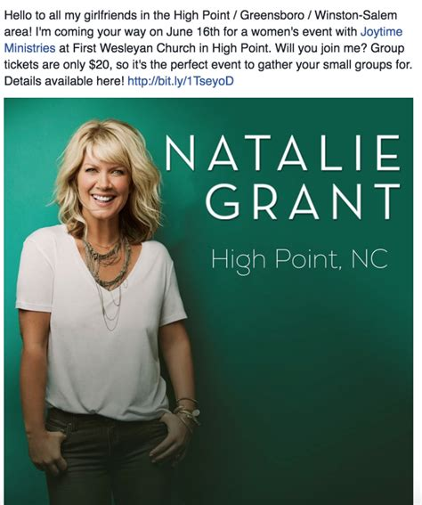 Open Door Ministries High Point Nc by Joytime 2016 Featuring Artist Natalie Grant