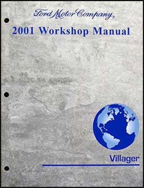 best auto repair manual 2001 mercury villager electronic throttle control 2001 mercury villager original repair shop manual gs ls workshop service book