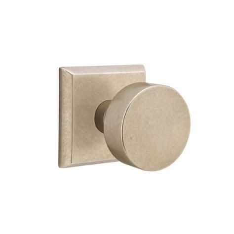 Door Knob Discount Center by Emtek Sandcast Bronze Door Knob Set Low Price Door