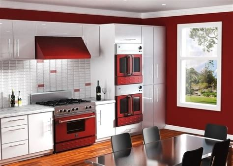 red appliances for kitchen custom bluestar appliances in wine red cooking with