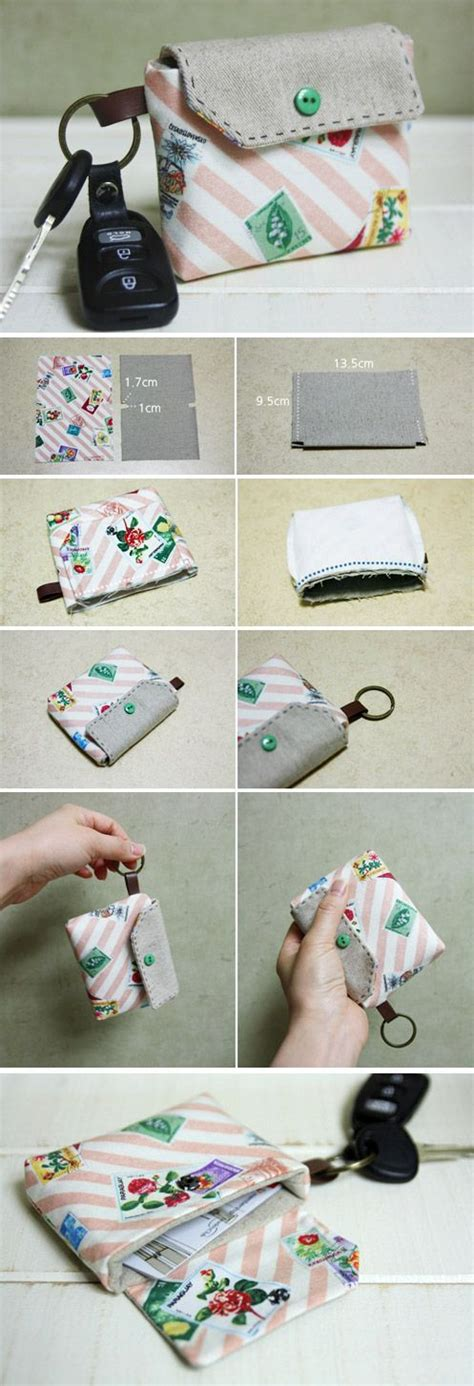 how to make a key card how to make a card holder key chain how to