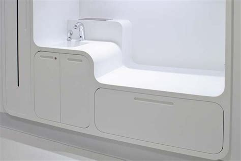 changing table with sink corian 174 suitable for hospitals as it seamless and non