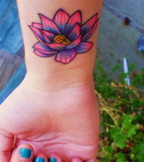tattoo lotus wrist 35 delightful lotus flower tattoo designs pictures sheplanet