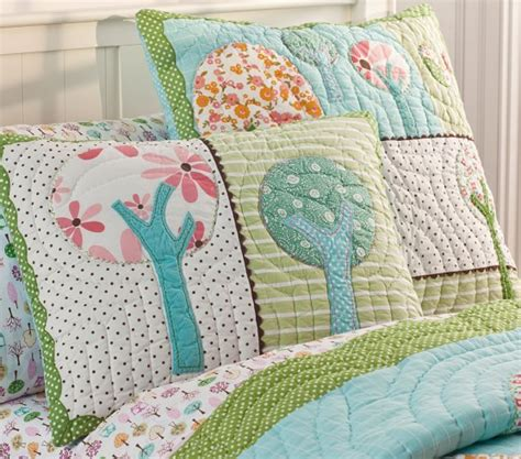 Childrens Bed Quilts by Quilted Bedding Pottery Barn