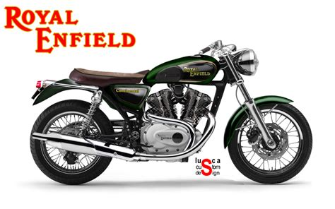 Custom Home Design Drafting by Lusca Custom Design Royal Enfield Continental 1000