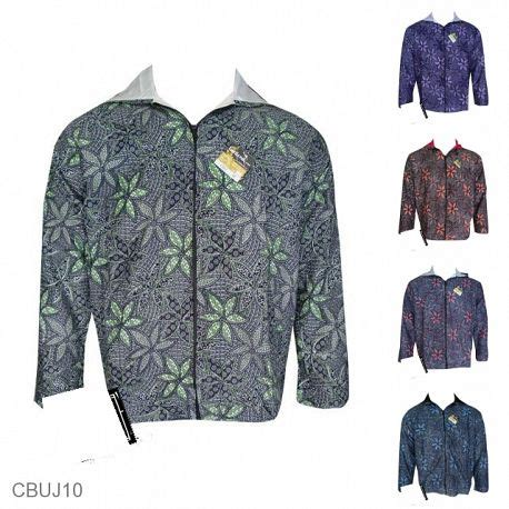 Jaket Motif Bunga Tranparan jual jaket batik pria murah model jaket batik pria batikunik