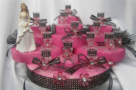 details about sweet 16 candle holder centerpiece cake