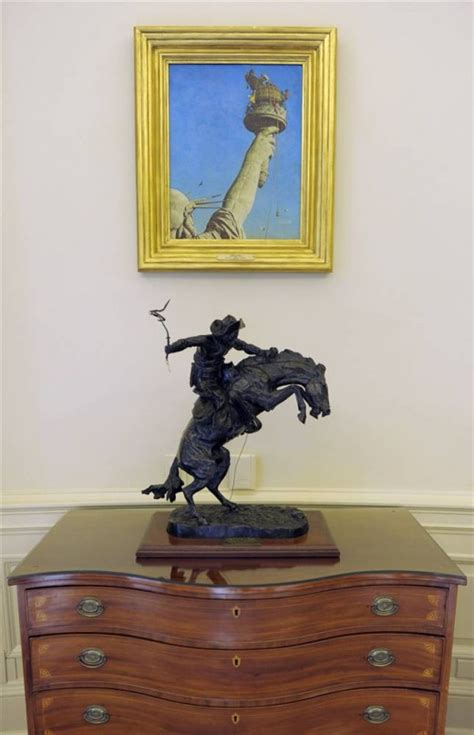 oval office paintings the new obama oval office makeover and d 233 cor in the white