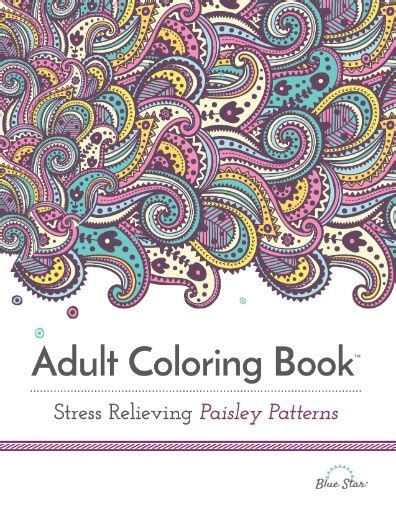 coloring books for adults subscription coloring book stress relieving paisley patterns