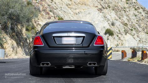 rolls royce rear rolls royce wraith review autoevolution