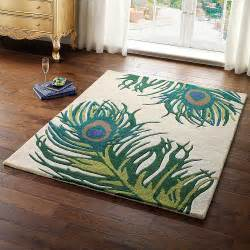 Peacock Area Rug Peacock Rug For Your Home Designinyou Decor