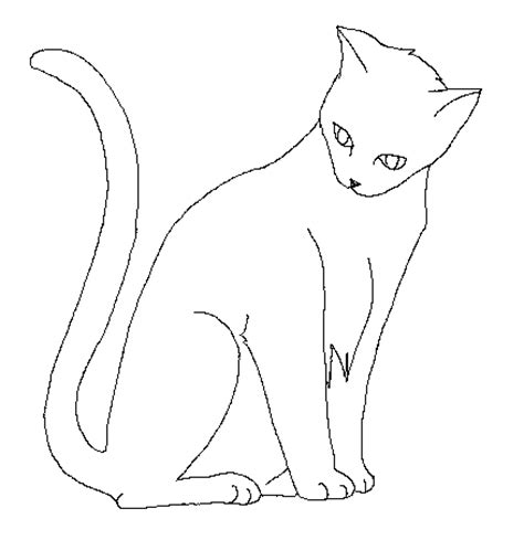 cat template 2 by psunna on deviantart
