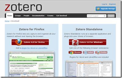 tutorial zotero mac tutorial cara instal zotero sangpengajar com