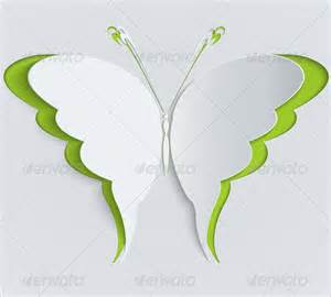 Butterfly Templates by 13 Psd Paper Butterfly Templates Designs Free