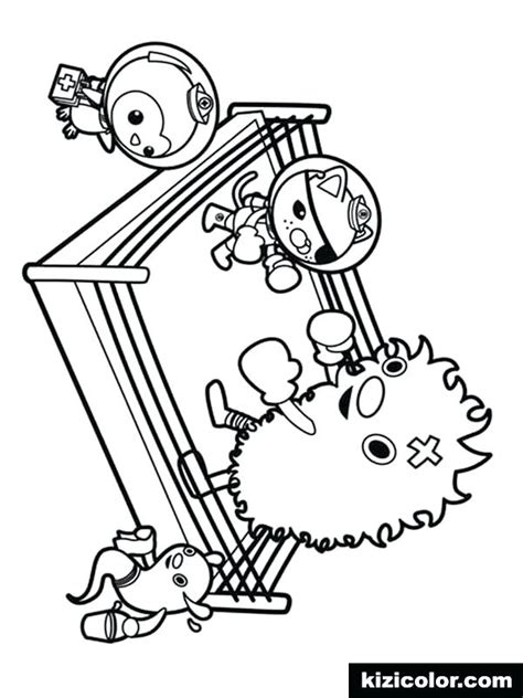 Gup X Coloring Page by Octonaut Coloring Pages 9 Coloring Page Various Coloring