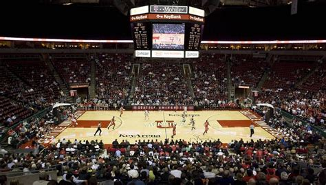 Key Arena Box Office by Bowl Seating Now Open For Su Uw Men S Basketball