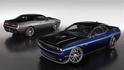 Mopar's custom Challenger features hand applied two tone paint