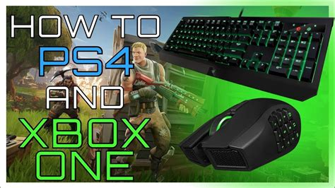 fortnite keyboard and mouse xbox how to use keyboard and mouse on ps4 and xbox one