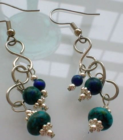 Make Handmade Earrings - made earring 13 handmade earrings you can make