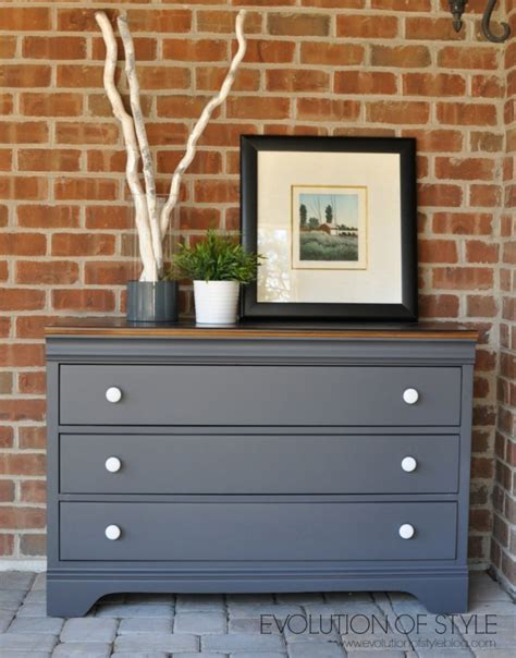 dresser in queenstown gray milk paint general finishes design center
