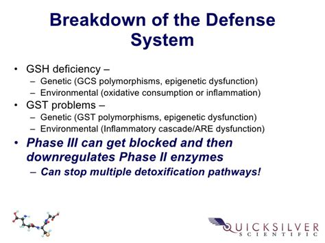 Detox Pathways Blocked by Quicksilver Scientific Therapeutic Detoxification System