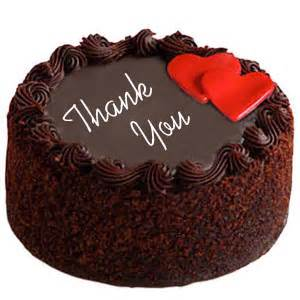 send 1 kg chocolate cake with two hearts to india gifts to india send thank you cakes