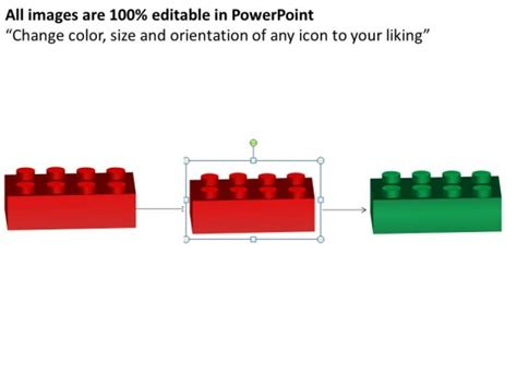 Powerpoint Template Process Lego Blocks Process Ppt Slides Lego Powerpoint Template