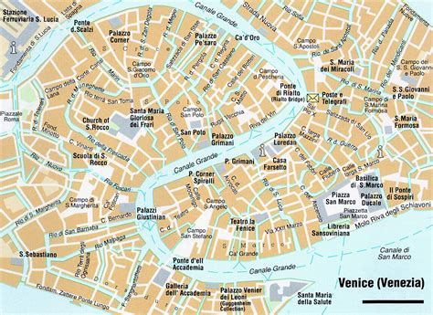 venice map map of venice city maps of italy planetolog