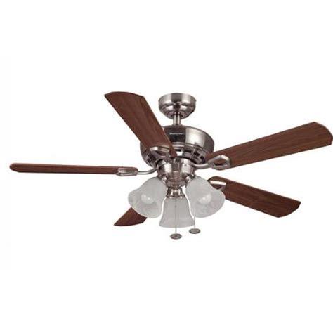 walmart ceiling fan light kit 44 quot honeywell valiant ceiling fan brushed nickel