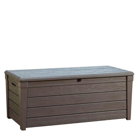 Universalbox Garten by Keter Garten Box Aufbewahrungsbox Kissenbox Auflagenbox Brightwood 455 L Truhe Ebay