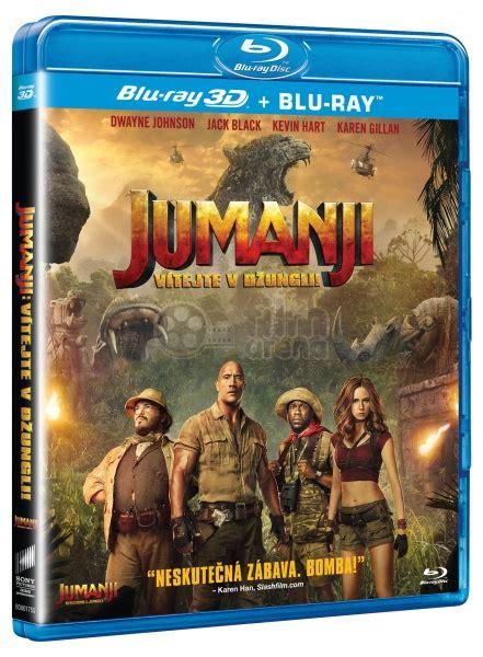 film uscite blu ray jumanji welcome to the jungle 3d 2d blu ray 3d blu ray