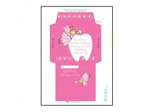 printable fairy envelope print off this colourful envelope template for your child