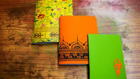 Handmade Booklet - how to make a handmade book diy paper crafts