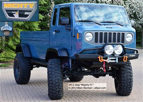 jeep forward control van jeep mighty fc 2012 wrangler forward control concept vehicle