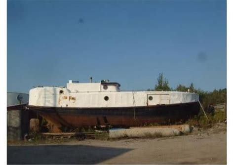 commercial fishing boat hull for sale 1933 48 ft steel commercial fishing vessel steel hull