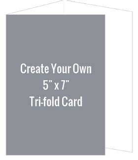 make your own card level ex create your own 5x7 tri fold card create your own cards