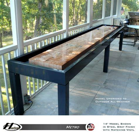 metro shuffleboard table product overview shuffleboard