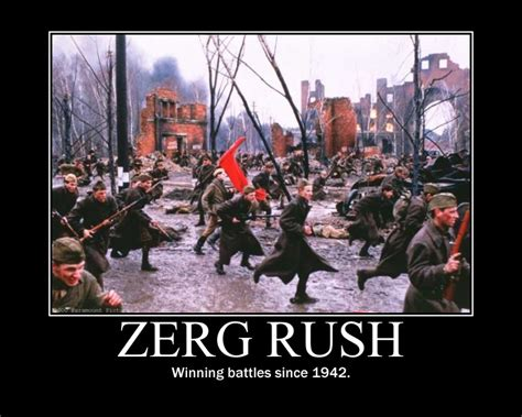 Zerg Rush Know Your Meme - image 257717 zerg rush know your meme