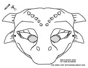 dinosaur mask template free print these free dinosaur masks ideas